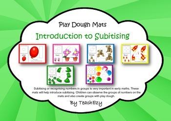 Subitising Play Dough Mats