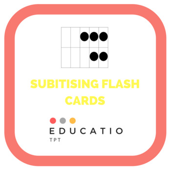Subitising flash cards
