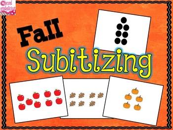 Fall Subitizing Powerpoint
