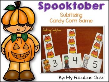 Subitizing Candy Corns