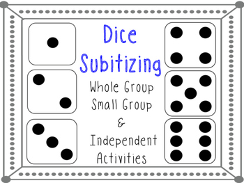 Subitizing Dice Activity