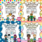 #betterthanchocolate Subitizing Puzzles- Season Bundle