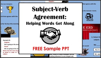 Subject-Verb Agreement Powerpoint: An Introduction