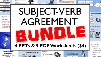Subject-Verb Agreement Bundle