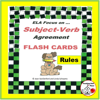 Subject-Verb Agreement RESOURCE | Must Have | RULES | FLAS