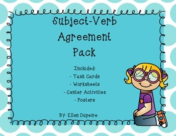 Subject-Verb Agreement Pack