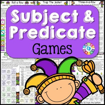 Subject and Predicate Games