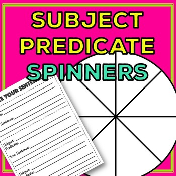 Subject and Predicate: Learn subject and predicate with si