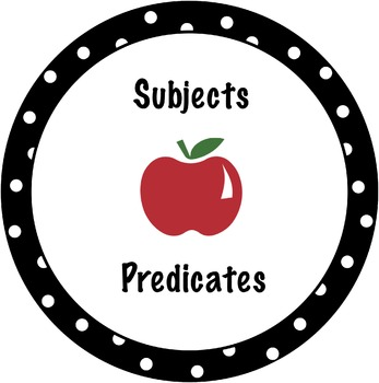 Subjects and Predicates Lesson