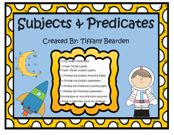 2nd Grade Grammar: Subjects and Predicates