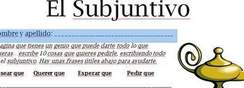 Subjunctive Spanish: 10 Sentences with Genie