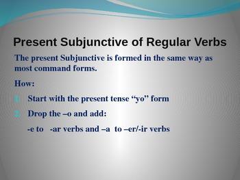 Subjunctive in Spanish