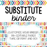 Substitute Binder EDITABLE