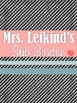 Substitute Binder with Lesson Plans - Chalkboard