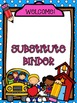 Substitute Binder Pages