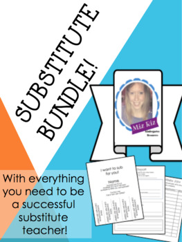 Substitute Bundle- Everything you need to be a successful