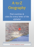 A to Z Geography Assignment for World Cities and Countries