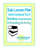 Substitute Lesson Plan for Art, Reading: Reading Comprehen