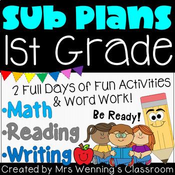 Substitute Teacher Plans!