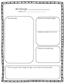 Substitute Teacher/Student Reports