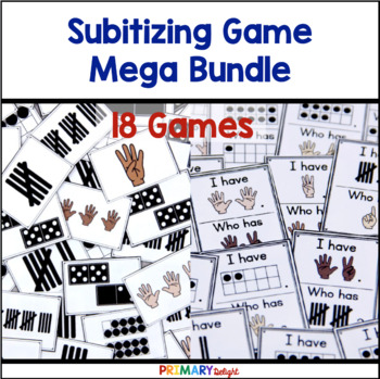 Subitizing Mega-Bundle