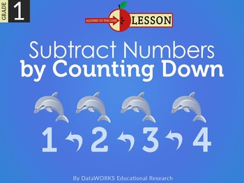 Subtract Numbers by Counting Down