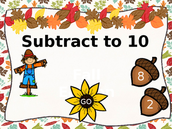 Subtract to 10 Fall Edition