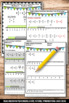 Fractions on a Number Line 5th Grade Common Core Math Worksheets