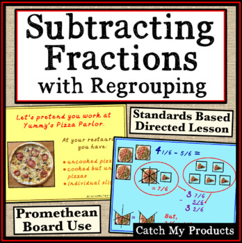 Subtracting Fractions with Regrouping Explained for Promet
