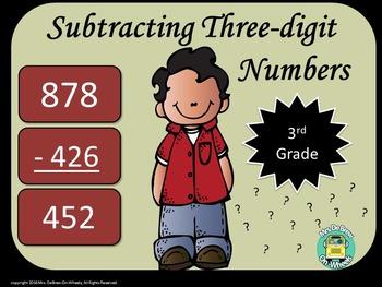 Subtracting Three-Digit Numbers