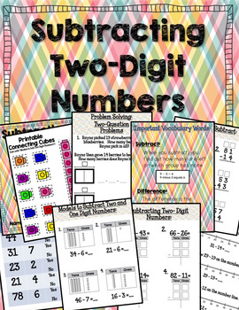 enVISION MATH Common Core Realize Edition- Subtracting Two