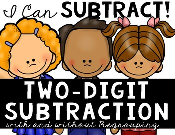 Subtracting Two Digit Numbers (Centers and More!)