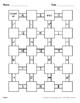 Subtracting Unlike Fractions Maze