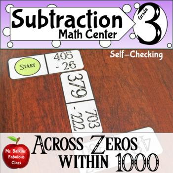 Subtracting across Zero within 1000 Dominoes