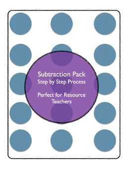 Subtracting package for students with LD (Canadian/British