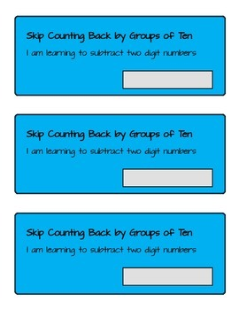 Subtracting with Regrouping Student Booklet