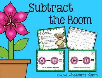 Subtraction Center Subtract the Room