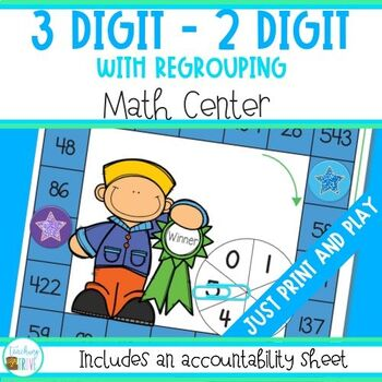 Subtraction - 3 and 2 Digit Numbers