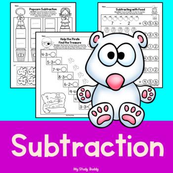 Subtraction (Kindergarten Math)