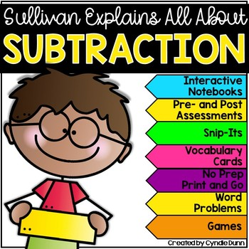 Marvelous Math: Subtraction Activities for First and Secon