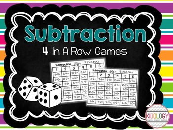 Subtraction - 4 in a Row