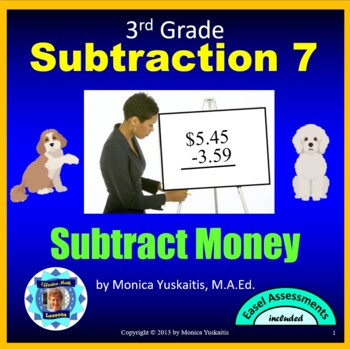 Common Core 3rd - Subtraction 6 - How to Subtract Money