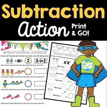 Subtraction Action Practice Problems