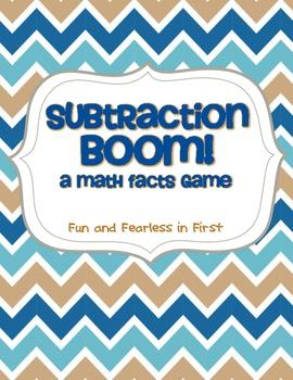 Subtraction BOOM!