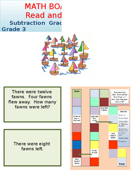 Subtraction Board Game with carry over