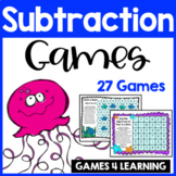 Subtraction Games for Subtraction Facts