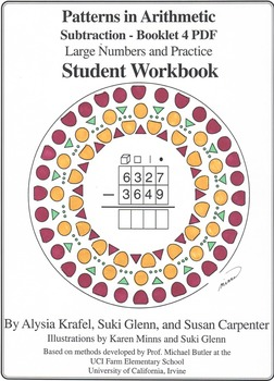 Subtraction:  Booklet 4  - Large Numbers and Practice Stud