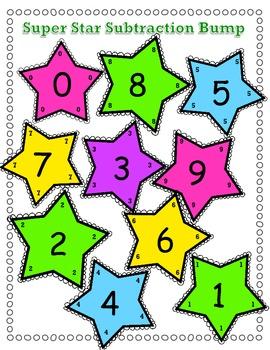 Subtraction Bump - Star Theme