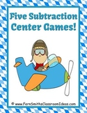 Subtraction Transportation Center Games