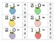 Subtraction Clip Cards {Differences 1 - 5}